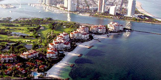 No. 11 Most Expensive Small Town: Fisher Island, Fla.
