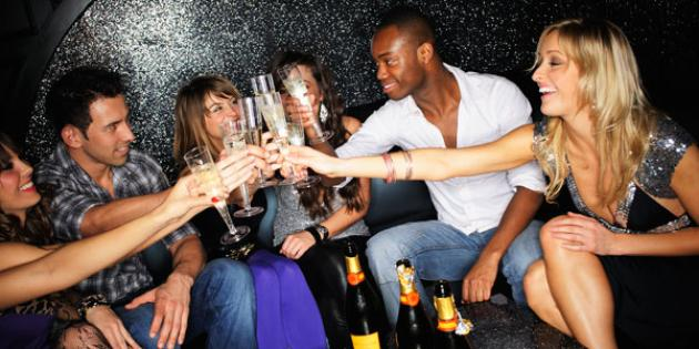 No. 5 Hot Holiday Import: Champagne and flutes