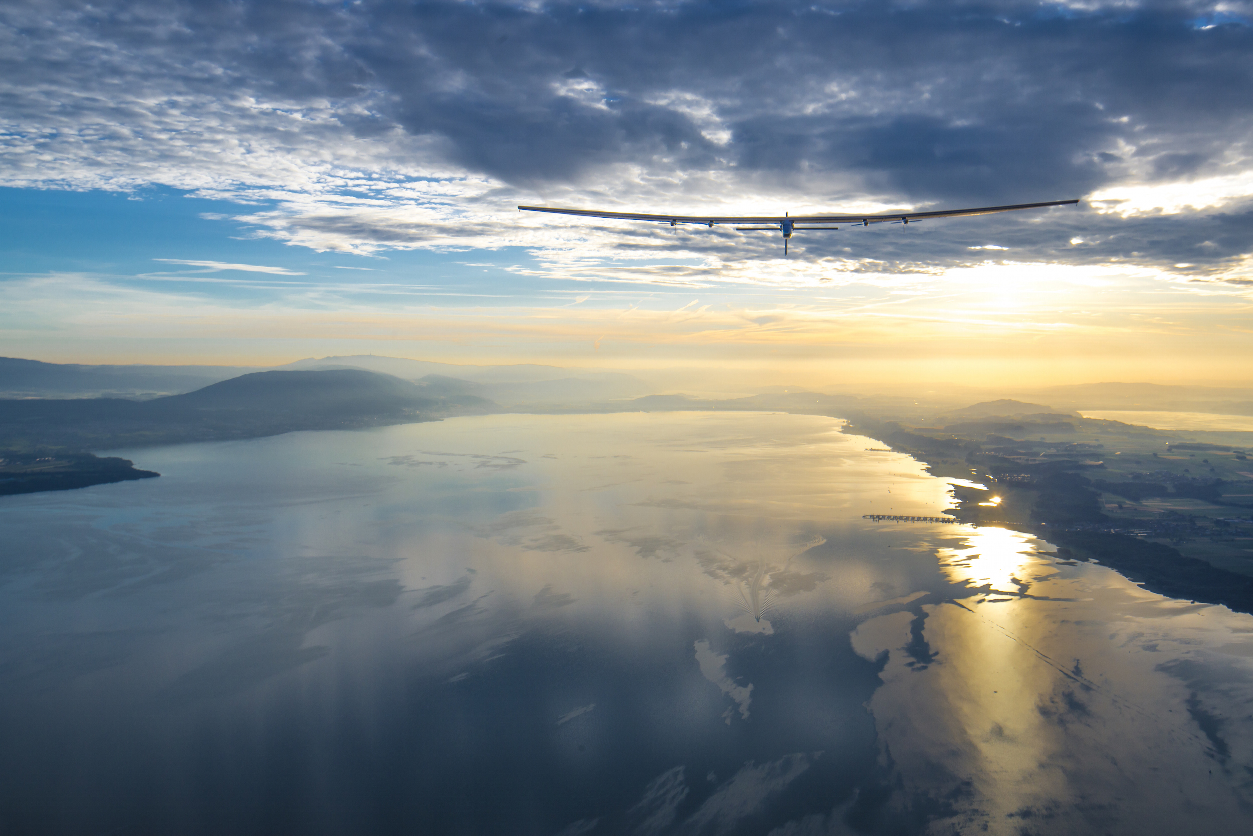 Solar Impulse 2 second flight