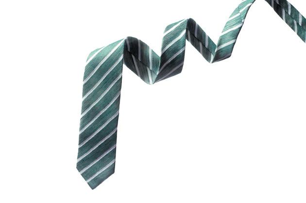 Bayliss stripe tie