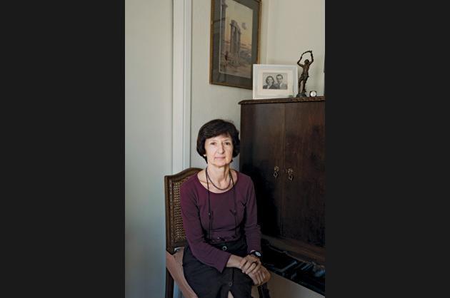 Ellie Nikolaidou, 65, retired teacher