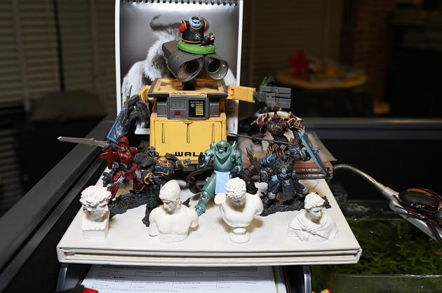 Wall-E Installation