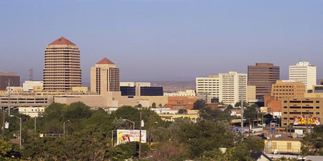 Fastest-growing city in New Mexico: Albuquerque