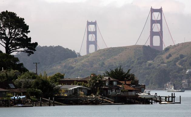 No. 5 Most Expensive Small Town: Belvedere, Calif.