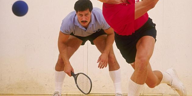 Squash and Racquetball