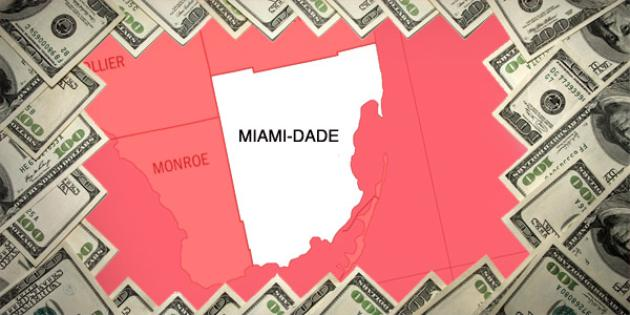 Most property tax paid in Florida: Miami-Dade County