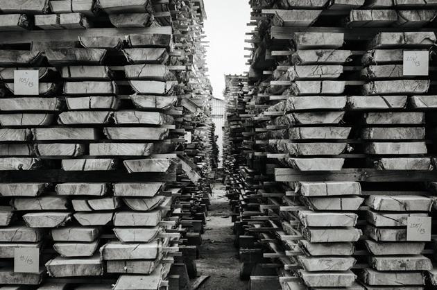 Walls of Lumber