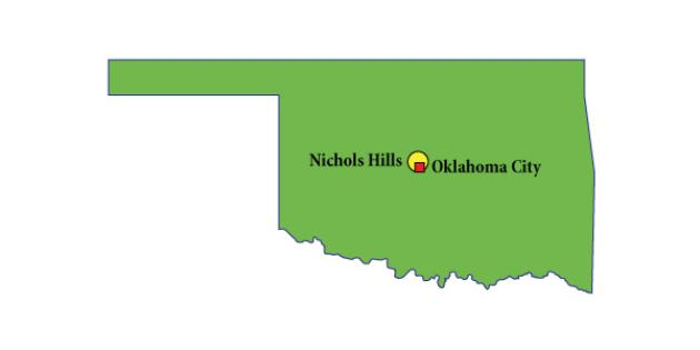 Most Expensive Suburb in Oklahoma: Nichols Hills