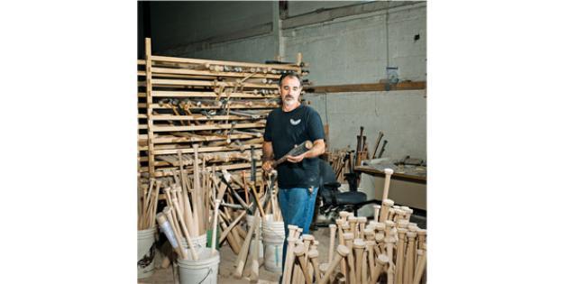 Alfred Maione: Baseball Bat Maker