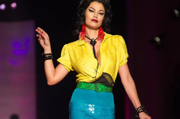 Jean Paul Gaultier's Amy Winehouse Tribute