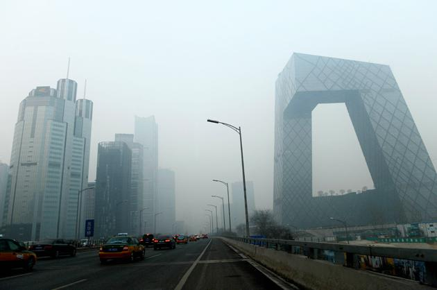 A Blanket of Polluted Air