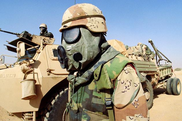 U.S. Desert Storm camo