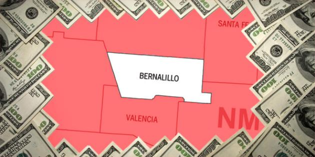 Most property tax paid in New Mexico: Bernalillo County