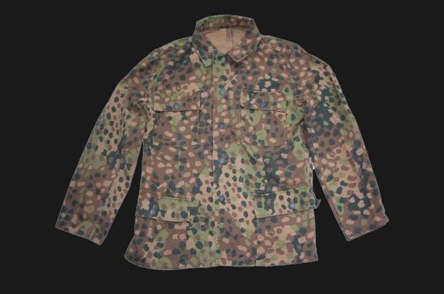 Nazi Germany peas pattern