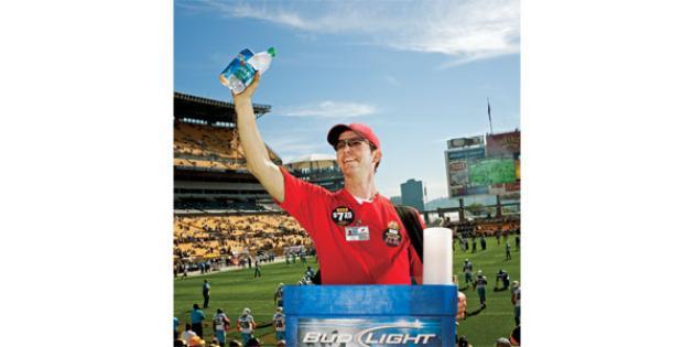 Bruce Hall:  Beer Vendor