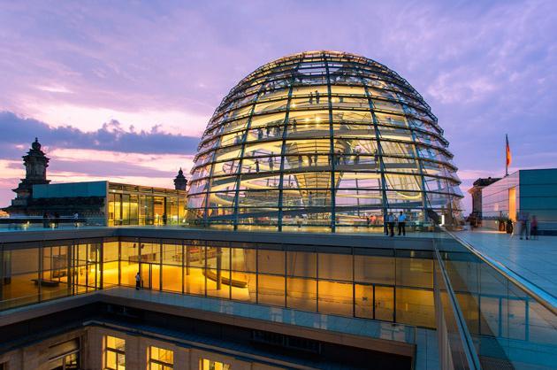 Reichstag Restoration, Berlin, 1999