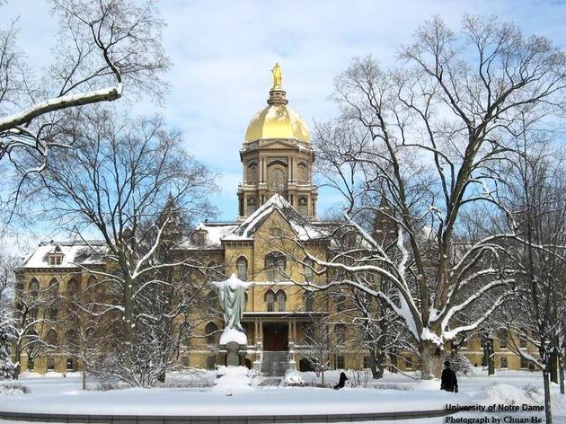 No. 10: University of Notre Dame