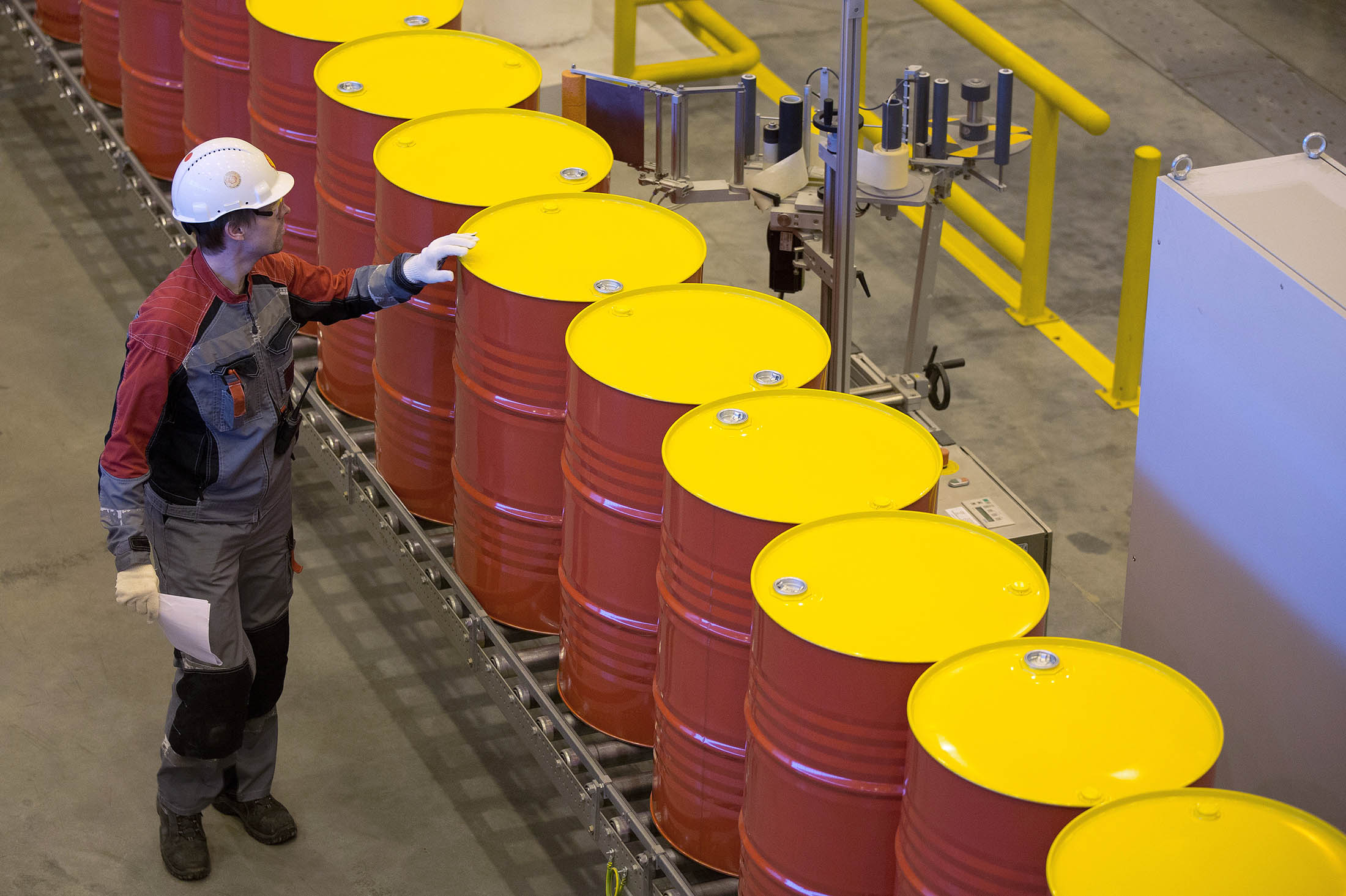 Can you buy oil in a barrel?