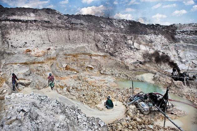 Tin Mining Pit, by Kemal Jufri