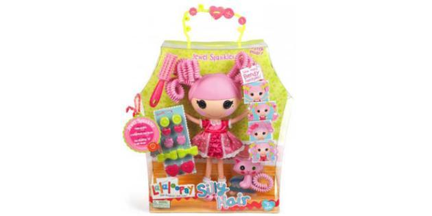 No. 23 Hot Holiday Import: Lalaloopsy Silly Hair Dolls