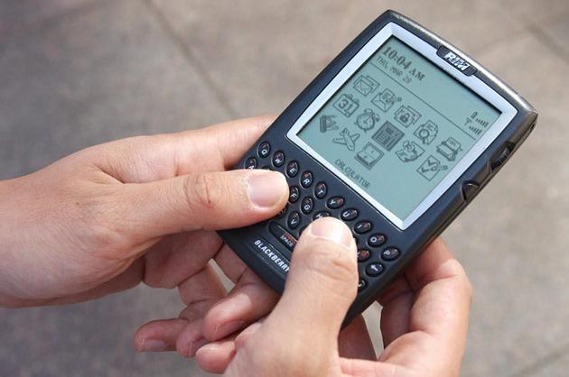 BlackBerry phone (2002)