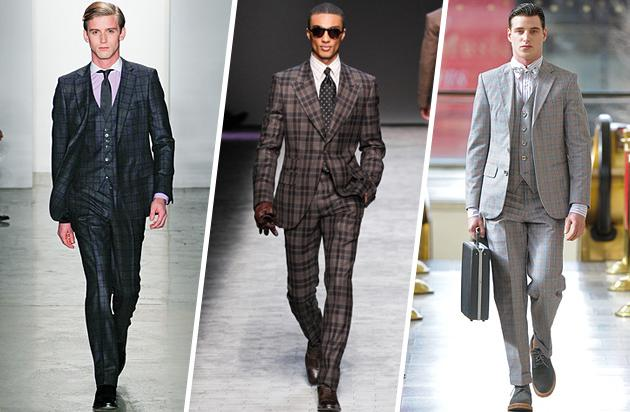 For the Young Professional - The Checked Suit