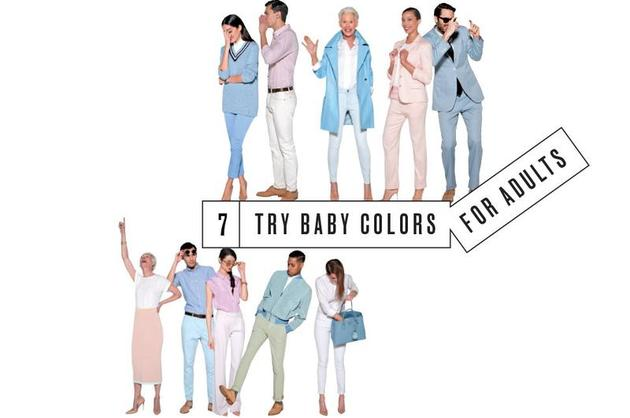 Try Baby Colors for Adults
