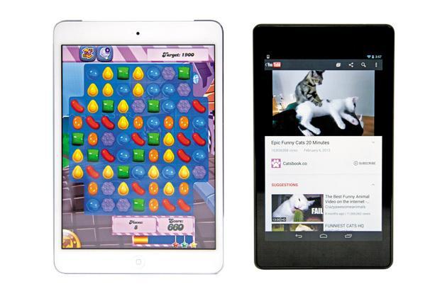 If You Take the Bus or Train: Apple iPad Mini, Google Nexus 7