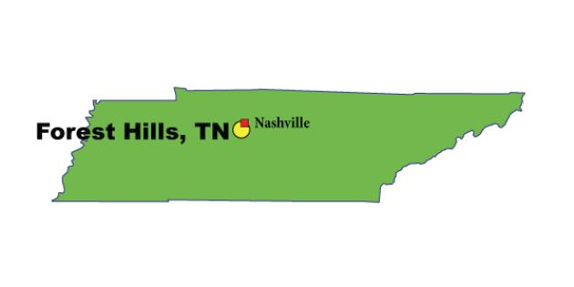 Most Expensive Suburb in Tennessee: Forest Hills