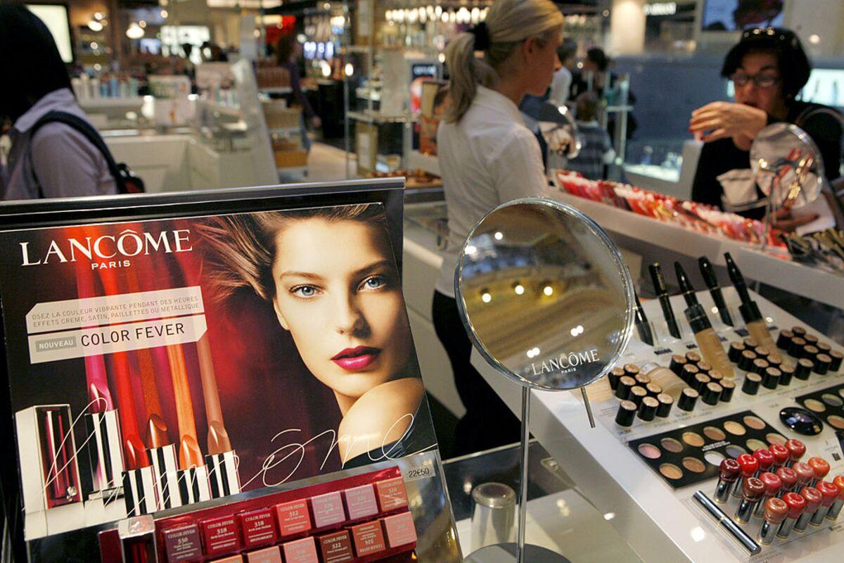 Lancome makeup counter