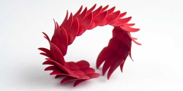 Jewelry: Leaves Up