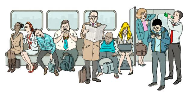 What Your Commute Home Reveals About You