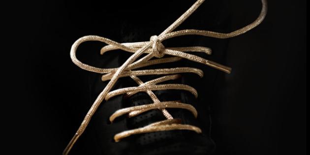 Golden Shoelaces