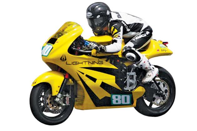 Lightning's Electric Motorcycle