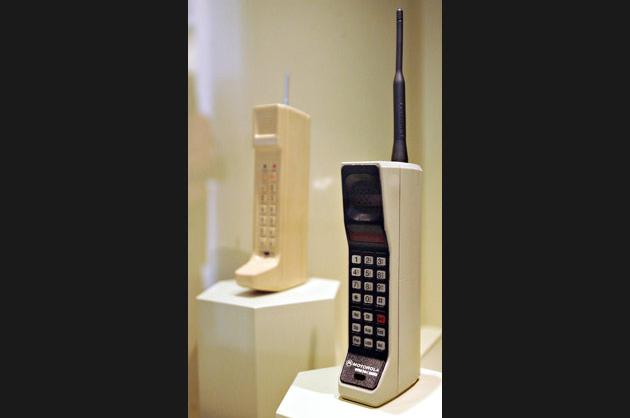 First commercial cell phone (1983)
