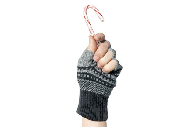 Club Monaco's Fairisle fingerless gloves