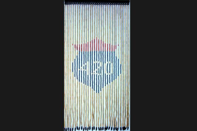 Penny Lane Highway 420 wood-beaded curtain, $63.15