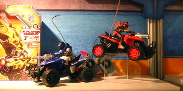 Jada Toys Battle Machines laser tag ATVs