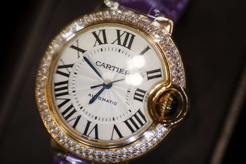 Cartier's $600,000 Watch Shows Risks of Extending Luxury Brands | Bloomberg