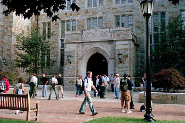21. Boston College