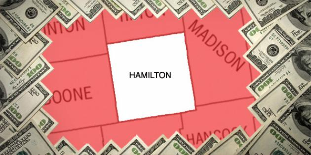 Most property tax paid in Indiana: Hamilton County