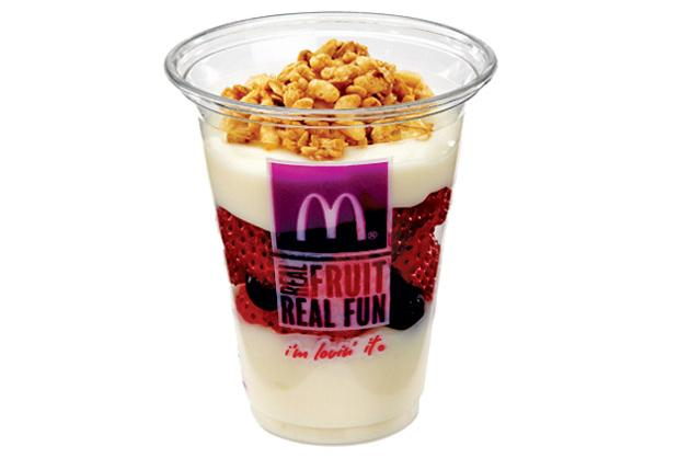 Digestible: McDonald's Fruit 'N Yogurt Parfait