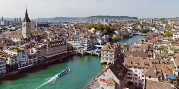 No. 6 Most Expensive City: Zurich
