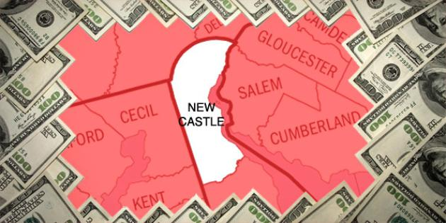 Most property tax paid in Delaware: New Castle County