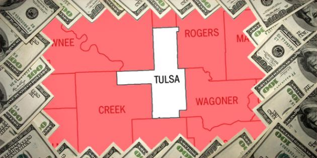 Most property tax paid in Oklahoma: Tulsa County