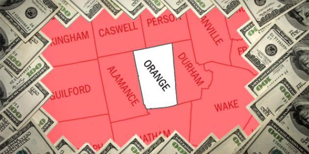 Most property tax paid in North Carolina: Orange County