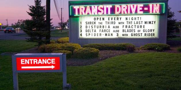 The Drive-In: Transit Drive-In Theatre