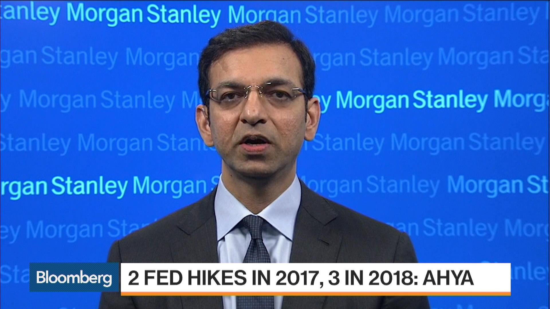 Morgan Stanley's Ahya: Why We See Two Fed Hikes in 2017