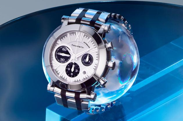 Tiffany Atlas Chronograph in Stainless Steel