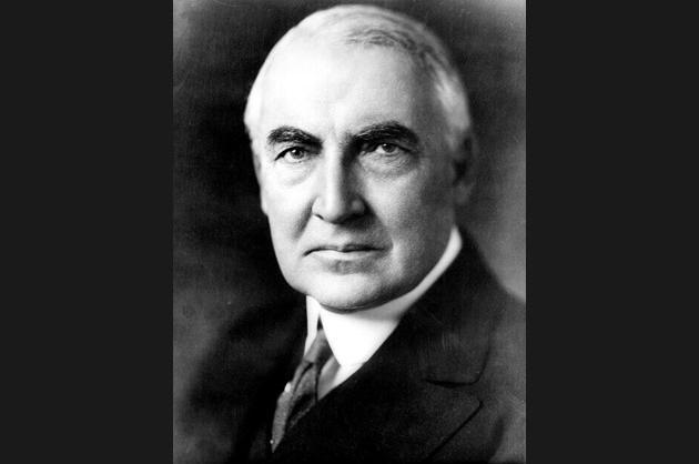 Warren Harding, 1921